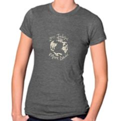 Less Judgin' More Luvin'  Heather Charcoal Women's Tee