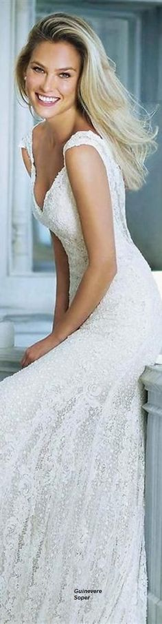 Bar Rafaeli's Wedding Dress... She is out of market, boys!!!!!