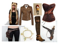 """""""Peter Pan--Lost Girl"""" by launched-out ❤ liked on Polyvore featuring Spirit Hoods, Armani Jeans, Luichiny and Disney"""