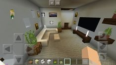 Modern House Play Room  #minecraft #interior #design #architecture #houses #modern #playroom