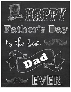 PRINT - Happy Father's Day to the Best Dad Ever on Etsy, $8.00
