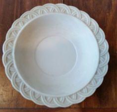 VTG  Porcelain Bisque Lefton ANTIQUE  hand painted Bowl dish  KW8244