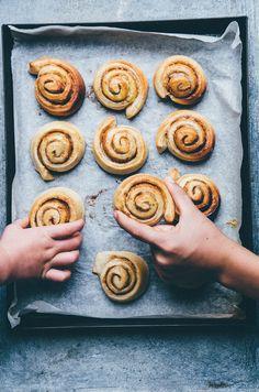 Swedish cinnamon rolls & berry braid recipes from Nourish Atelier