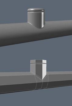 FAQ: How u model dem shapes? Subd mini-tuts AKA USE THE RIGHT AMOUNT OF GEO - Page 145 - Polycount Forum