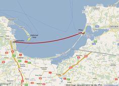Weg von Pillau nach Gotenhafen - für Tausende der einzige Möglichkeit, der Roten Armee zu entkommen...