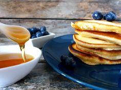 Amerikanske pannekaker - Fra mitt kjøkken Pancakes, Breakfast, Food, Morning Coffee, Pancake, Meals, Yemek, Eten, Crepes