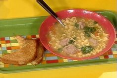 Get Mini Meatball Soup Recipe from Food Network