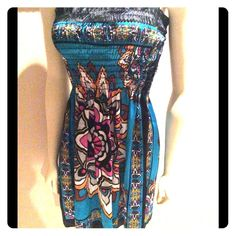 Lounge Dress Summer halter dress for a fun day on the beach or shopping. Just slip on and go. Dresses