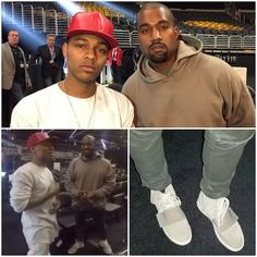 Kanye West Wears Adidas Yeezy 750 Boost Sneakers at Grammy Rehearsal | UpscaleHype