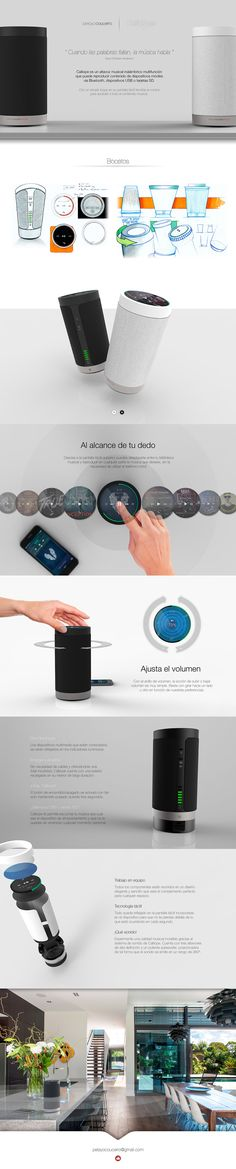 Calliope Wireless Speaker on Behance