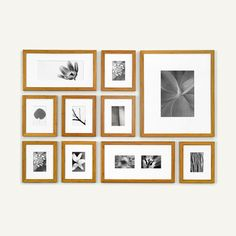 Bamboo Picturewall Frames.