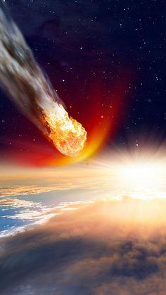 vaporwave sky Wallpaper asteroid of death 11 Jul 2017 Space