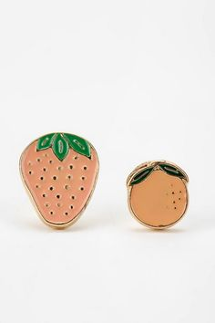 Strawberry Fields Post Earring