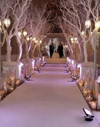 go for white, when everything else is so colorful. aisle for peacock wedding