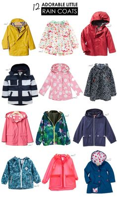 A guide to the most adorable raincoats for kids for those rainy spring days | Hellobee