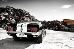 Ford Mustang by Alexis Goure, via Flickr