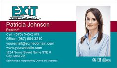Exit Realty Business Cards With QR Code