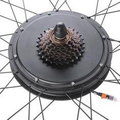 Electric Bicycle Conversion Kit Front Rear Wheel E-Bike Cycling w/ LCD Honda Bikes, Honda Motorcycles, Honda Motos, Bike Motor Kit, Hall Effect, Scrambler Motorcycle, Honda Scrambler, Joy Ride, Motor Works