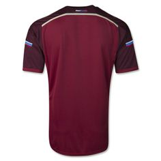 Russia 2014 World Cup Home Shirt-Back-(Official).