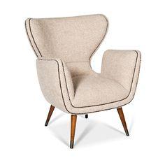 Large Italian Club Chair - Coup D'etat