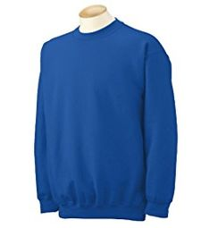 541b832c55b Amazon.com  Gildan Men s Heavy Blend Crewneck Sweatshirt - Medium - Royal   Clothing