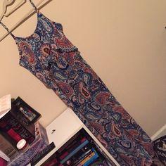 Long dress. Brand new. Never worn Got it from target, super cute floor length dress. Took tags off and never worn. Xhilaration Dresses