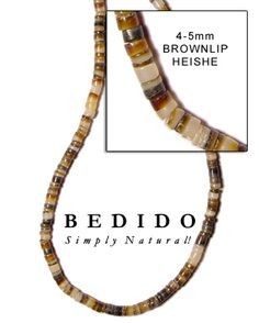 Brown Lip Shell Brown Lip, Black Lips, Black Wood, How To Make Beads, Sea Shells, Coconut, Pearls, Natural, Jewelry
