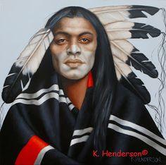 K. Henderson Art, Olhos de índios americanos