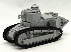 the renault FT 17 lego builder by BelgIuM ww2 bUildeR