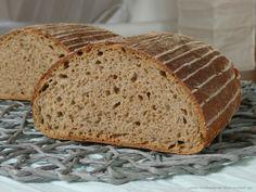 Chléb půlžitňák Bread, Menu, Baking, Recipes, Food, Menu Board Design, Brot, Bakken, Essen