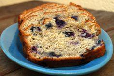 Banana Blueberry Quick Bread
