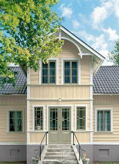 Hur du skapar harmoni mellan husets fasad och din trädgård