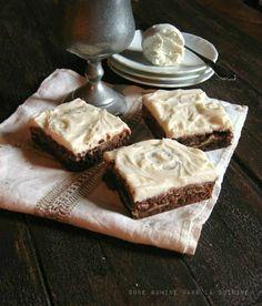 Goat Cheese Brownies | une gamine dans la cuisine