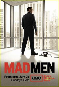 Mad Men season four promo poster.