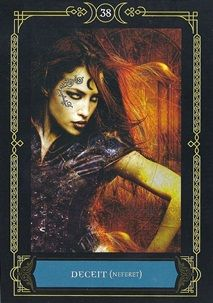 Tarot Dame's Blog: Wisdom of the House of Night Oracle Cards: Psychic Draw