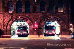 Impressionen Boston  |  Fire Department -  Engine 33 - Ladder 15  |  mw-werbung.de