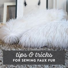 Learn our top 10 tips and tricks for sewing with faux fur. Then, we'll should you how to make faux fur pillows, blankets and DIY Christmas stockings