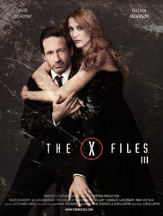 David Duchovny & Gillian Anderson in the X Files 3 ?!?!?!?!?! I wish! Still a cool poster, though! ------ I SO WANT THIS TO HAPPEN!!!!!!!!!