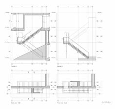 Exterior Stair Detail Drawings #stairs Pinned by www