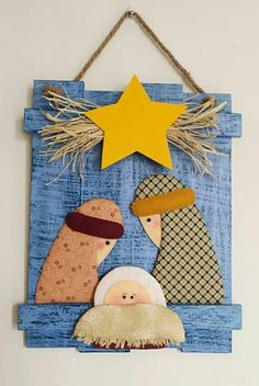 Christmas Sewing Projects, Christmas Crafts For Kids, Xmas Crafts, Homemade Christmas, Christmas Fun, Christmas Nativity Scene, Felt Christmas Ornaments, Christmas Wrapping, Christmas Decorations