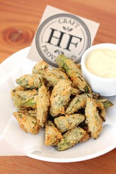 Fried Okra {Food photos from Hock Farm in Sacramento, CA}