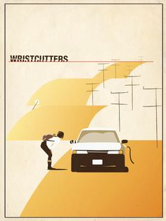 "My ""Wristcutters"" poster design"