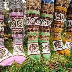 Ravelry: Hedgehog socks pattern by Titta Järvensivu Knitting Socks, Hand Knitting, Knitting Patterns, Sock Yarn, Handicraft, Fingerless Gloves, Arm Warmers, Ravelry, Hedgehog