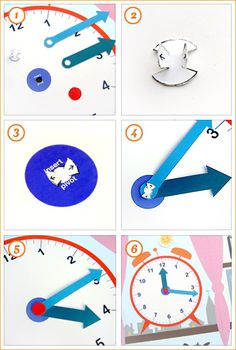Printable File Folder Games | What Time Is It? - Mr Printables