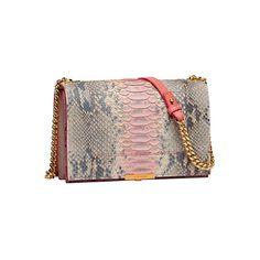 OOOK - Elie Saab - Accessories 2014 Spring-Summer - LOOK 1 | Lookovore ❤ liked on Polyvore featuring bags, handbags, clutches, summer clutches, summer purses, summer handbags, elie saab and brown handbags
