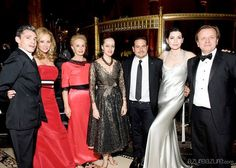 www.azureazure.com :: Museo del Barrio Annual Gala 2012 - May 27, 2012 // Cipriani 42nd St., New York, NY. // Rubén Toledo, Yaz Hernández, Carolina Herrera, Isabel Toledo, Narciso Rodríguez, Julianna Margulies, Robert Furniss-Roe. // Photo: Gregory Partiano. #azureazure #event #NewYork #gala