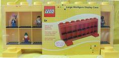 Lego Minifigure Case  Large Yellow
