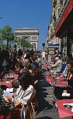 Paris Cafe. We ate at Le George V