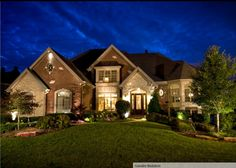 Great house & landscaping .