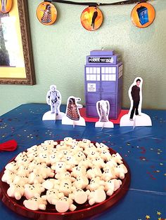 Our Doctor Who Themed Birthday Party